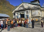 Char Dham shrines welcome pilgrims; 8 army personnel tests positive for COVID-19 in Uttarakhand