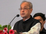 Day after praising EC, Pranab Mukherjee raises concerns over EVM tampering