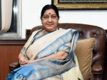 Swaraj on 2 day visit to Bishkek for SCO Summit