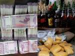 Cash, liquor three times more than 2014 elections