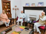 It is a historic win says L K Advani