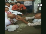 Modi gets second term as PM, but why did this Congress worker shave head