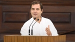 He listened to whatever was necessary: Cong defends Rahul's phone fiddling during President's speech