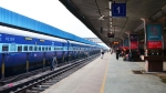 Railway cop saves passenger who tried to get off moving train