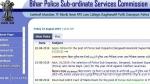 Bihar police recruitment notification for 2446 vacancies out, Bihar police jobs apply online link