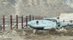 Uttarkashi: Helicopter carrying flood relief crashes with 3 people onboard