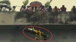 Denied access to crematorium, Dalits 'airdrop' dead body from 20-foot-high bridge