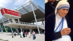 This international airport was named in honour of Mother Teresa