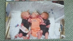 Mom rushed to hospital thinking kidney stones, gives birth to triplets instead