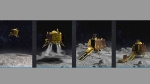 Chandrayaan-2 frenzy sends 'Rajnikant' up a pillar in Prayagraj,