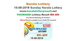 Kerala Lottery Today Pournami RN-409 result: Win Rs 70 lakh