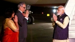 Waited for long to greet you: Syed Akbaruddin receives PM Modi in US