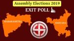 Maharashtra, Haryana Election Exit Poll Results 2019 LIVE: Will Khattar, Fadnavis get second term