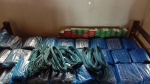 Huge quantity explosives recovered from a bus in Meghalaya
