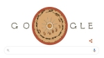 Google dedicates Doodle to Belgian physicist Joseph Plateau, the inventor of phénakistiscope