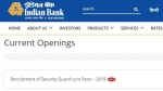 Bank jobs for 10th pass:115 Indian Bank peon vacancies announced; Peon jobs apply online link here