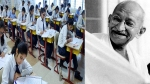 How did Gandhi commit suicide: A shocker of a question at a Gujarat school exam