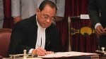 CJI Gogoi sits on bench for last time in court number 1 before he retires on Nov 17