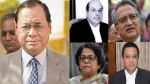 The five Judges who will deliver the Sabarimala review verdict