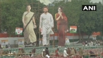Last minute preparations of Congress' 'Bharat Bachao' rally