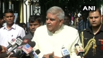 Insulted: WB Governor Jagdeep Dhankar arrives at state assembly, finds gate locked