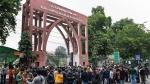 A play called Jamiawala Bagh staged outside Jamia Millia