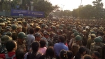JNU protest: Police resort to lathicharge after clash with students