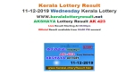 Kerala State Lottery Today Result: Akshaya AK-423 official result