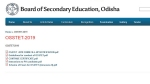 Odisha OSSTET 2019: Check details and eligibility