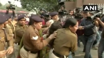 Demanding justice for Unnao rape victim outside hospital, woman pours 'petrol' on daughter