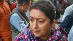 Is it my fault that I'm a woman MP of BJP: Smriti Irani on Cong MPs charging towards her