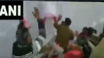 Huge clash breaks out between BJP, Congress workers at a restaurant launch event in Bhopal