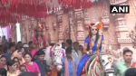 Bridal Baraat! Two sisters ride horses to reach grooms house as pre-wedding ritual in Madhya Pradesh