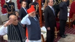 71st Republic Day 2020: PM Modi continues 'safa' tradition, sports saffron 'bandhej' turban