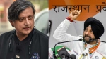Delhi Polls: Navjot Singh Sidhu, Shashi Tharoor among Congress star campaigners list