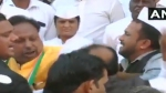 On camera, Madhya Pradesh Congress leaders fight at Republic day event
