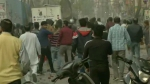 Clashes near anti-CAA protest in Northeast Delhi's Jaffrabad, police lob tear gas