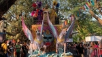 Goa Carnival begins, thousands watch float parade led by King Momo