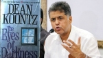 Is coronavirus a bio weapon? Manish Tewari wants you to read this book
