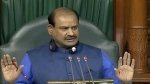 'Hero of zero hour': Union Minister' praise for Lok Sabha Speaker