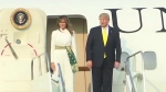 'Wah Taj' for Trumps: US President arrives in Agra to a boisterous welcome