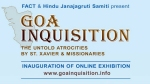 HJS, FACT to jointly inaugurate exhibition on occasion of Goa Day