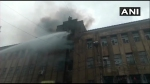 Fire breaks out at multi-storey building in Kolkata