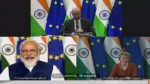 At India, EU summit high-level dialogue set up to address trade issues; decide to expand ties