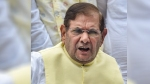 Vikas Dubey's encounter seems to be fake, straight out of film: Sharad Yadav