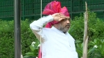 Independence Day 2020: Day after testing COVID-19 negative Amit Shah hoists National Flag