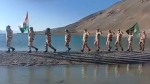 Watch: ITBP jawans celebrate Independence Day at 16,000 feet in Ladakh