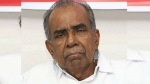 Senior Kerala Congress leader CF Thomas no more