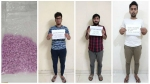 Contraband of 750 MDMA tablets from Netherlands seized by NCB at Bangalore, Four arrested
