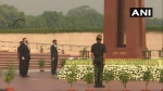 Mike Pompeo, Mark Esper pay tribute at National War Memorial in Delhi
